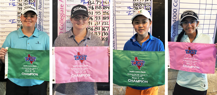 South Course Classic @ Blackhorse Top Finishers