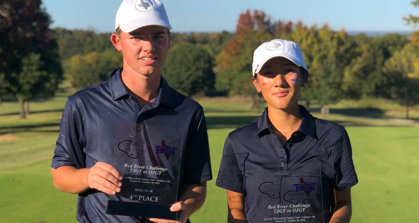 Grossl, Liu Earn Hardware for Team Texas at Red River Challenge