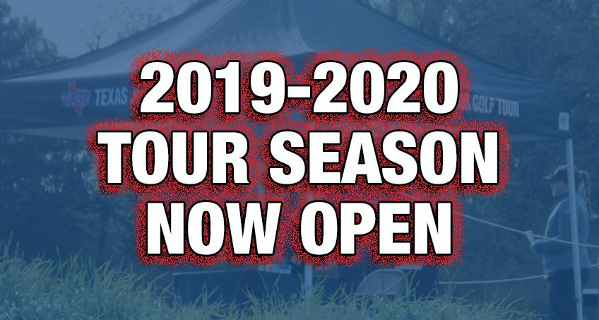 The 2019-2020 Season Is Now Open