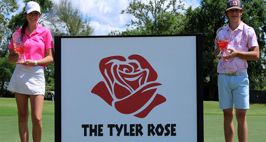 Robertson, Barnard Emerge Victorious at Annual Tyler Rose